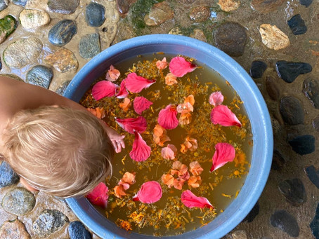 Softening Flowerbath