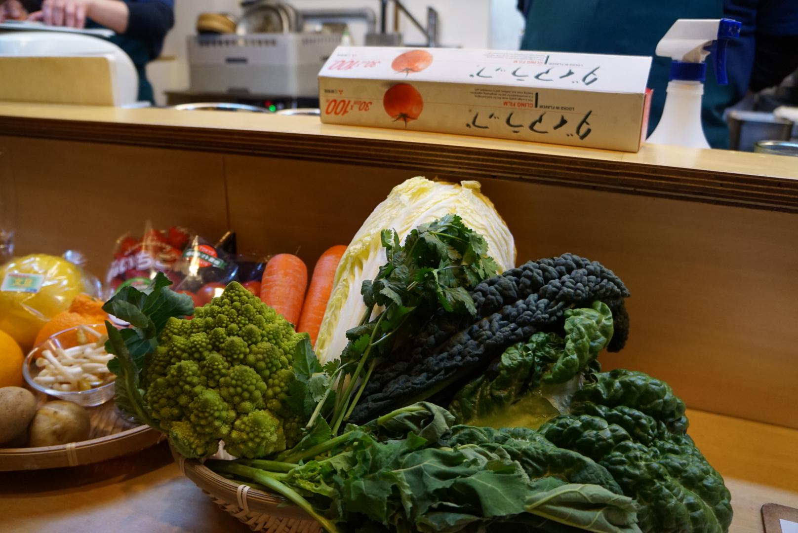 練馬では珍しい野菜もたくさん作っています