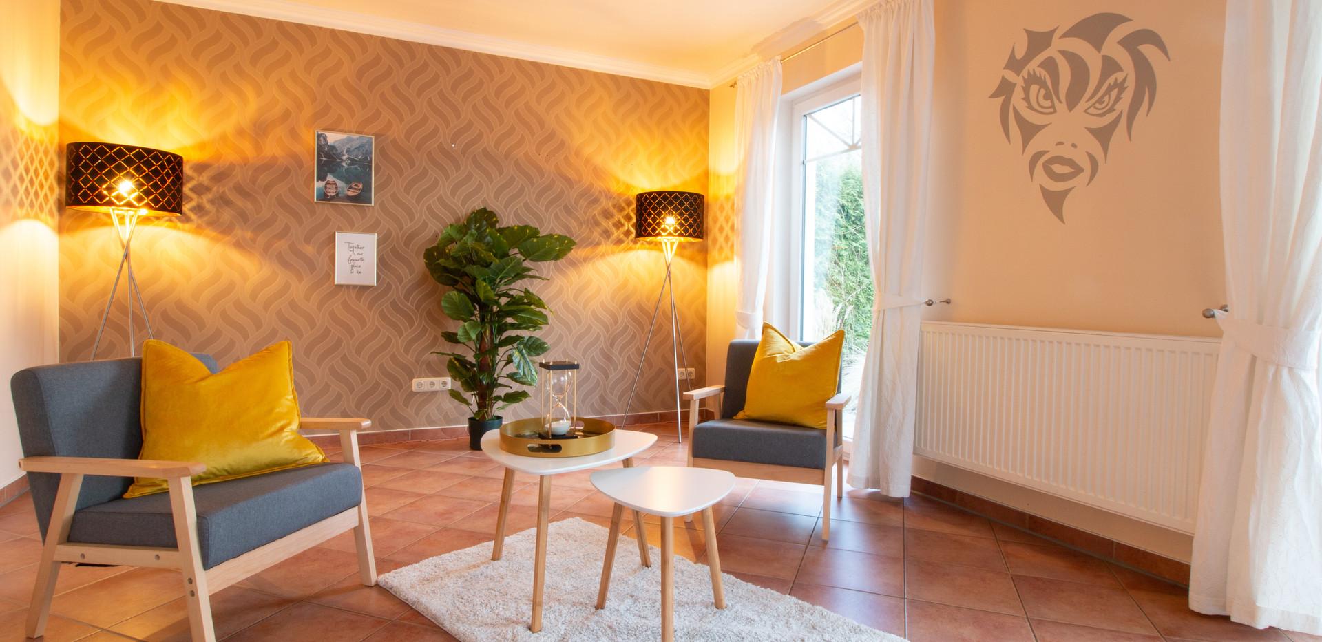 Wohnzimmer nach Homestaging