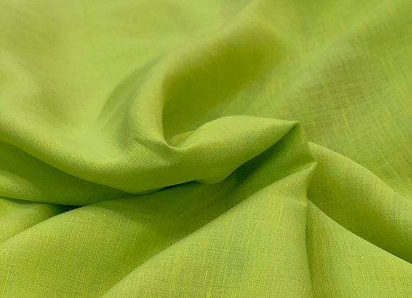 Lime Green Italian Linen