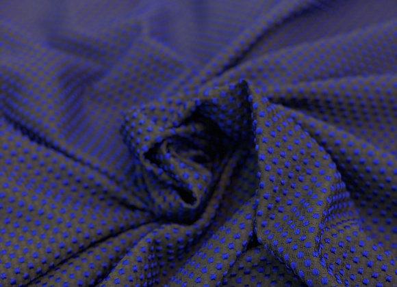 Royal BluePolka Dot Brocade