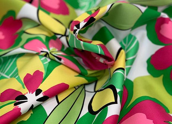 Multicolor Floral Cotton