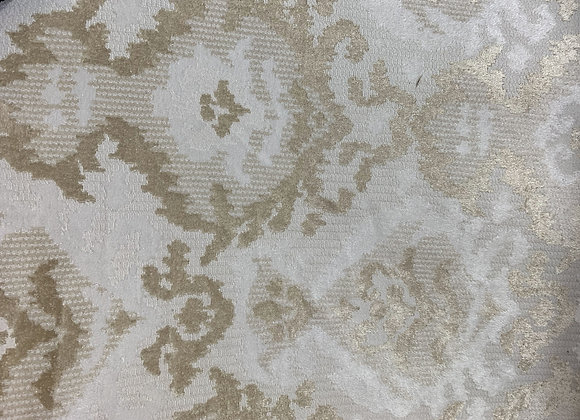 Champagne Gold Damasque Design Upholstery