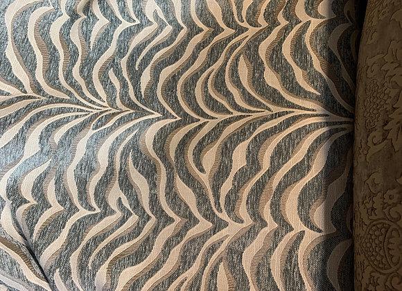 Light Seafoam Zebra Print Upholstery