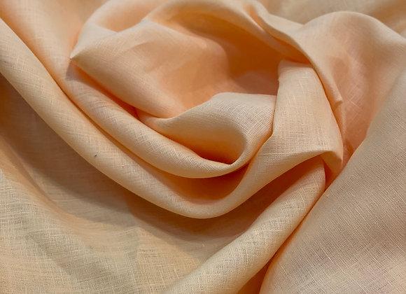 Light Peach Italian Linen