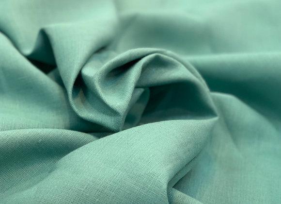 Bright Turquoise Italian Linen