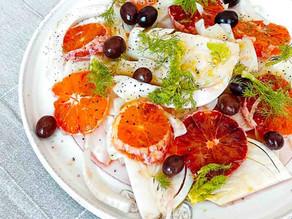Blutorangen Fenchel Salat