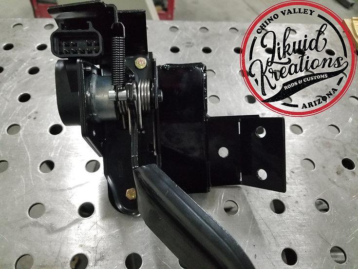 60-66 Chevy C10 Truck LS Swap DBW 01-05 Truck Style Throttle pedal Bracket