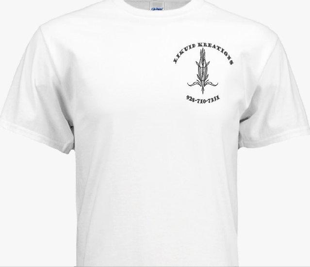 Classic white pinstripe logo