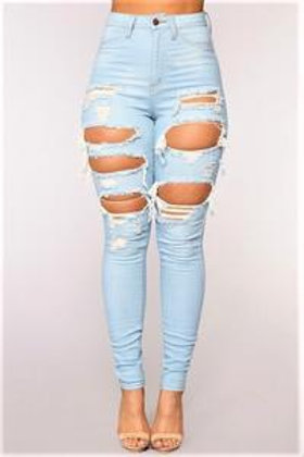 High Rise Holy Jeans