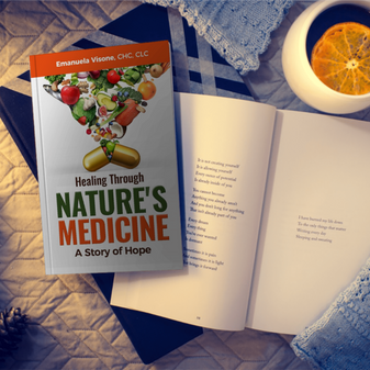 """Exciting news! My book, """"Healing Through Nature's Medicine, A Story of Hope"""" is now on Amazon!"""