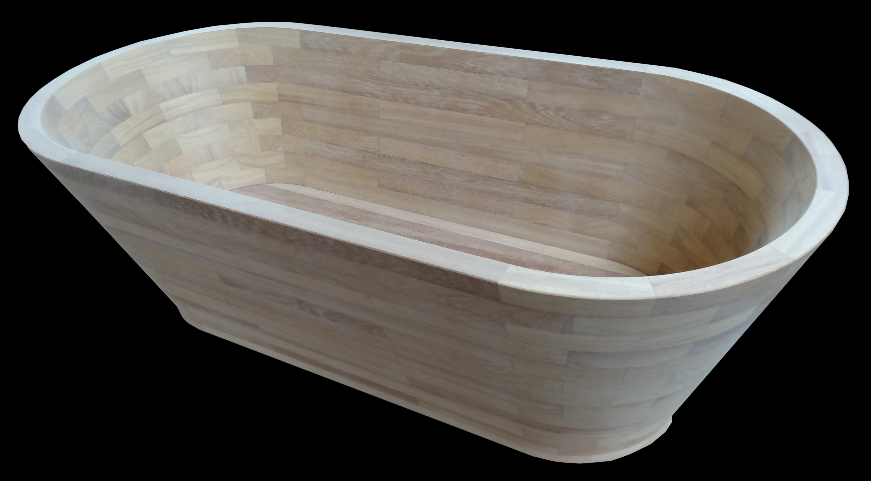 baignoire en bois  1