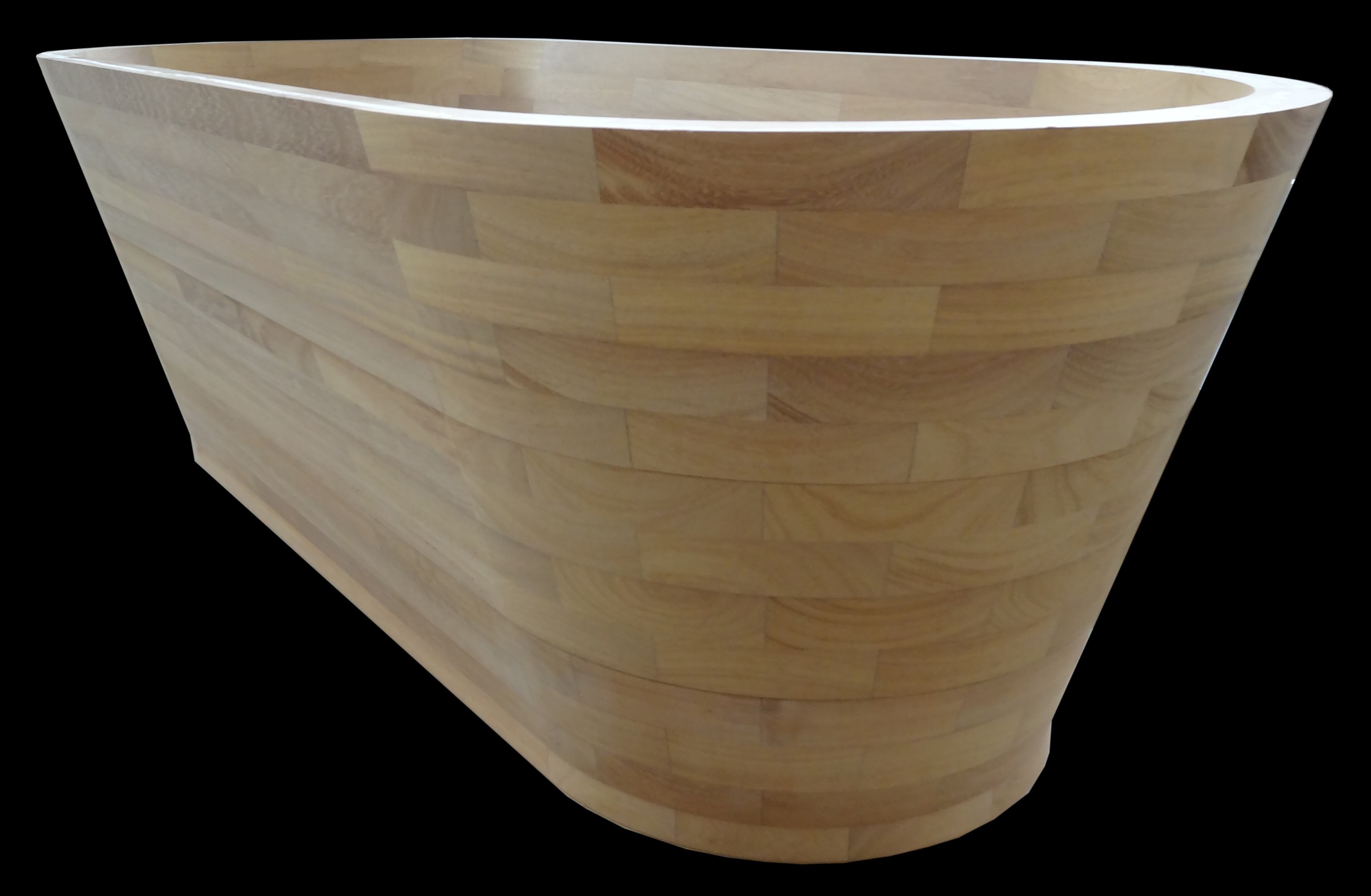 baignoire en bois 2