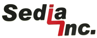 Sedia, Inc. logo - cutting, sewing, upholstery