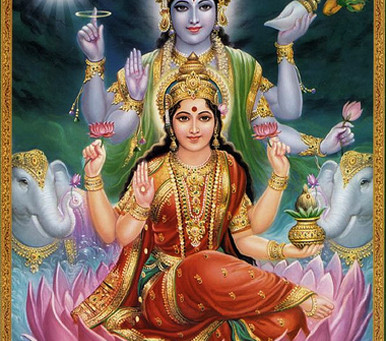 The Goddess of all riches- Lakshmi & her worship