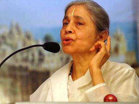Remembering Indu Ma!