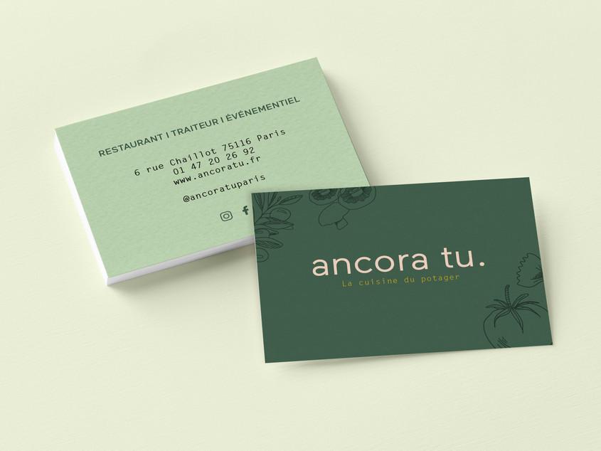 Ancora Tu - Business cards