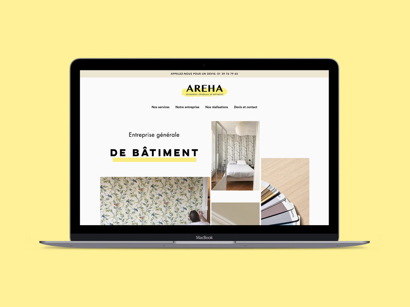 Areha - Webdesign