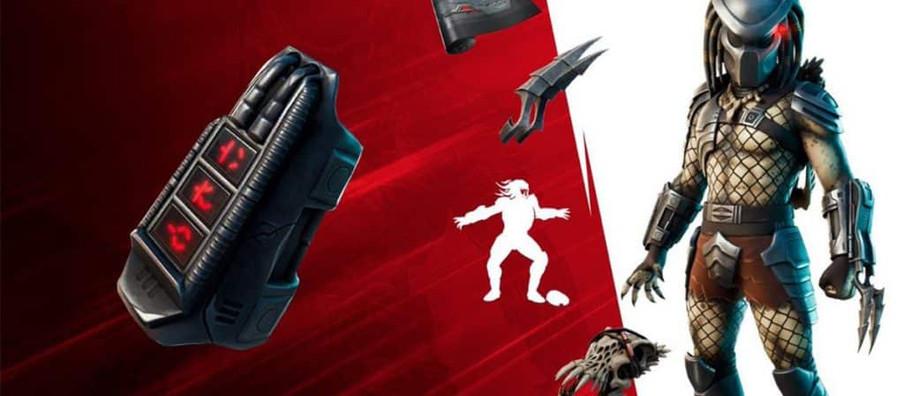 Predator joins Fortnite with the Season 5 Battle Pass