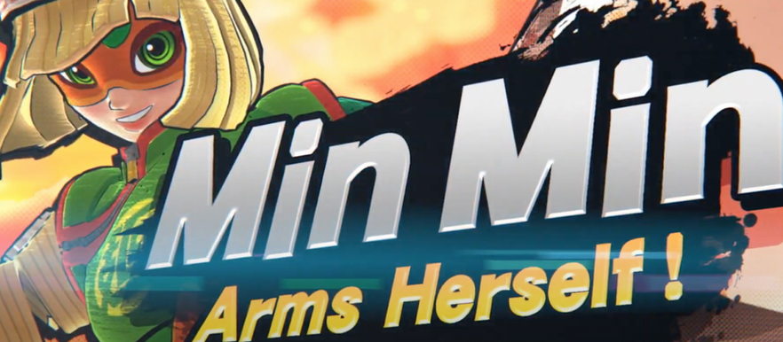 Super Smash Bros. Ultimate Adds ARMS' Min Min as Next DLC Fighter