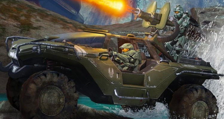 Could a Tesla x 'Halo' Warthog be in the Works?