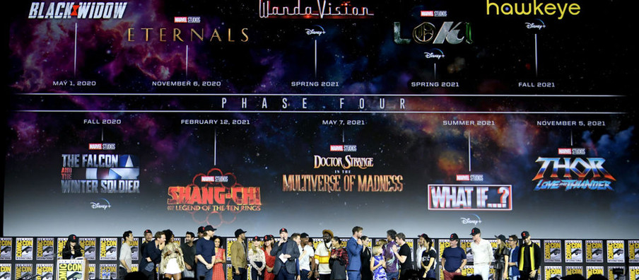 Disney Announces New MCU Phase 4 Release Schedule