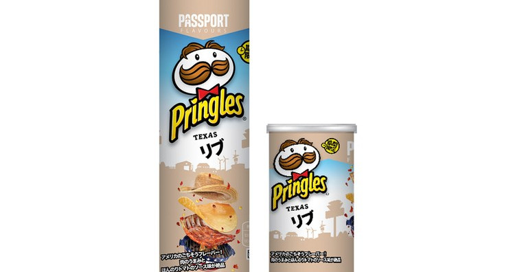 Gamer Eats: Pringles Japan  Texas Ribs Flavored Chips