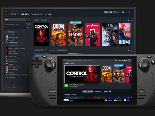 The Steam Deck Is Valve's Answer to the Nintendo Switch