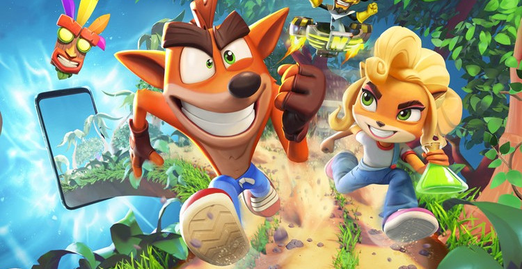 'Crash Bandicoot: On the Run' Is a New Mobile Runner for iOS and Android