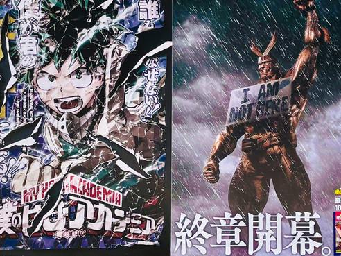 My Hero Academia' Posters Tease Manga's Final Chapter