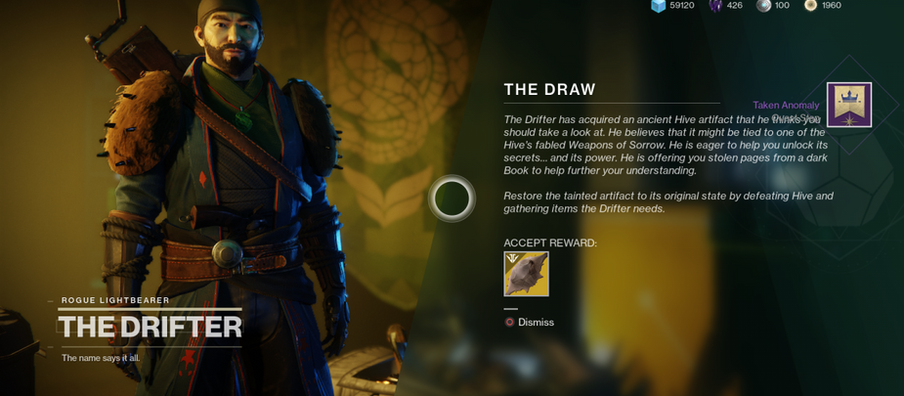 Destiny 2: The Draw Exotic quest guide