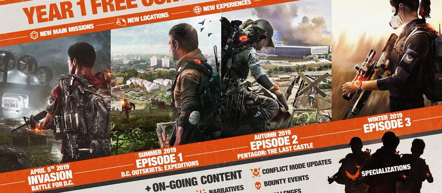 The Division 2: World Tier 5, Tidal Basin, heroic difficulty, more coming next week