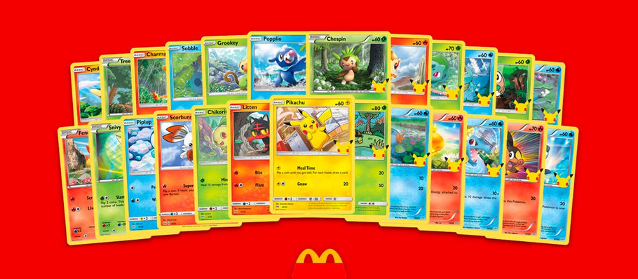 Pokémon Fans in Uproar Over McDonald's Happy Meal Card Scalping