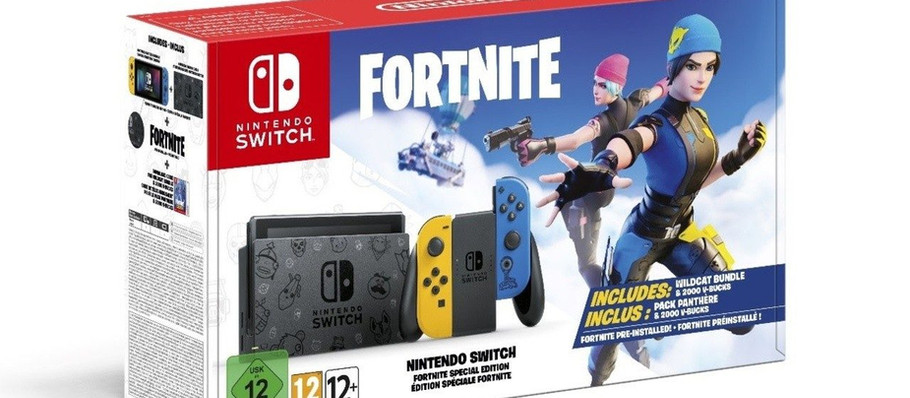 Fortnite Themed Switch Bundle is Headed to European Retailers