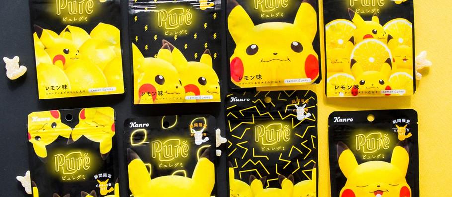 Gamer Eats: Kanro Puré Brings Back Its Classic Lemon Flavor for Pikachu Gummies