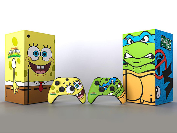 SpongeBob and the Ninja Turtles Take Over the Xbox Series X to Celebrate Nickelodeon All-Star Brawl