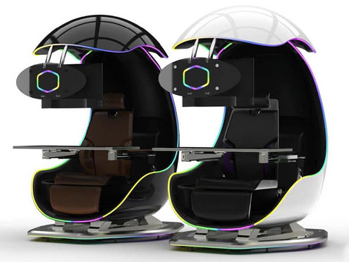 Immerse Yourself In Cooler Master's Orb X Gaming Pod