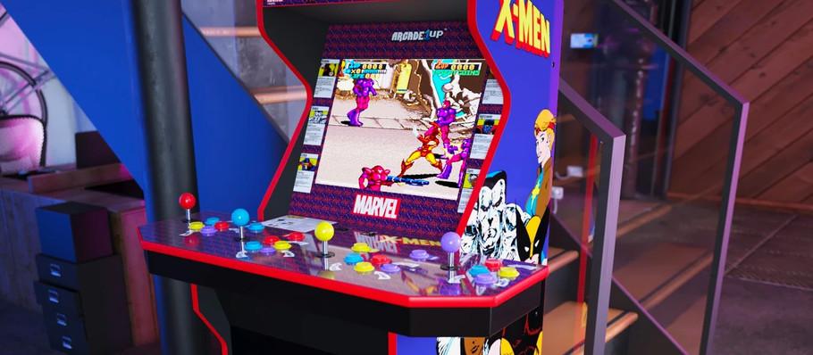 Arcade1Up Announces New 'X-Men' Arcade Cabinet and 'Pong' Pub Table