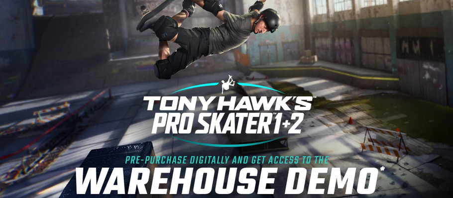 'Tony Hawk's Pro Skater 1 + 2' Warehouse Demo Gameplay