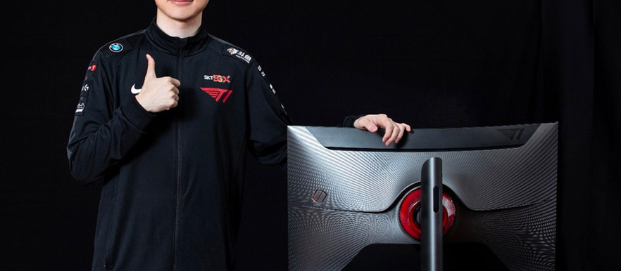 T1's Faker Joins Samsung for a Special Edition Odyssey G7 Gaming Monitor