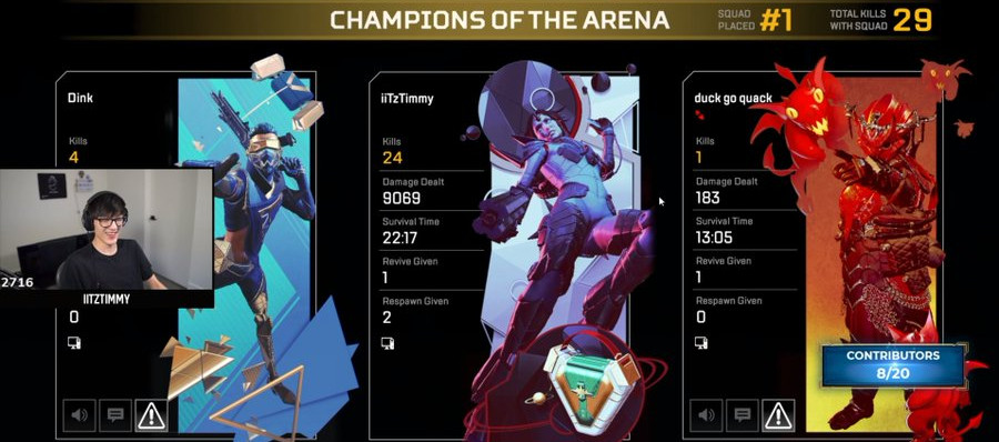 Twitch Streamer iiTzTimmy Has Broken An Apex Legends World Record