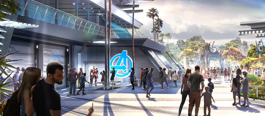 First Look: Avengers Campus Set to Open This Summer