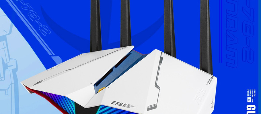 First Look at New ASUS 'Gundam' Wireless Gaming Routers