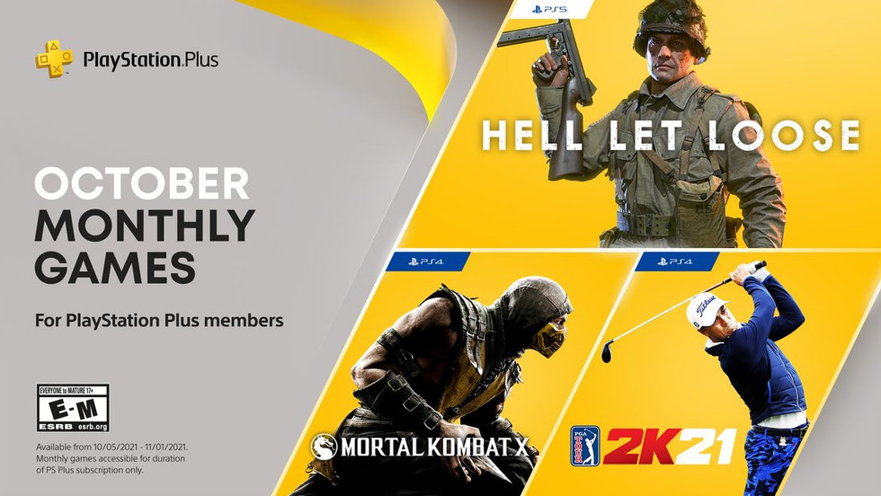 PS Plus October 2021 PS5, PS4 Games Announced