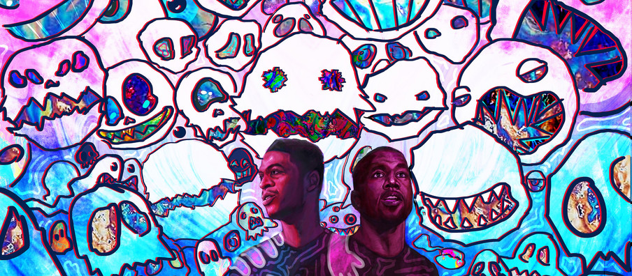 Kanye West and Kid Cudi Tease 'KIDS SEE GHOSTS' Animated Show