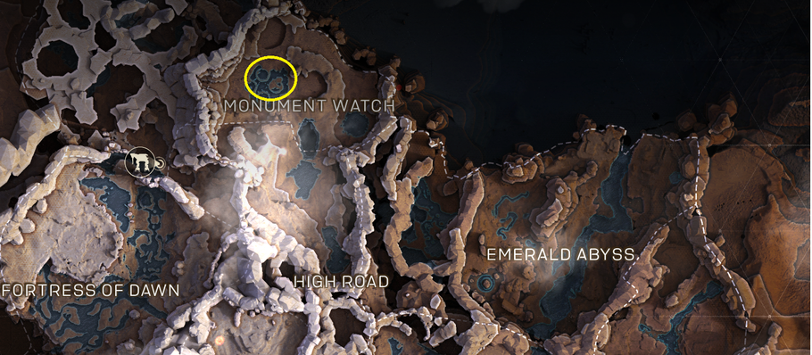 Anthem – There Be Giants Challenge: all Titan locations