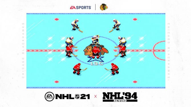 NHL 21 Pre-orders Come With a New NHL 94 Rewind Mode