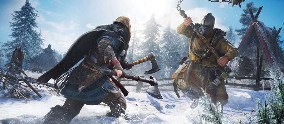 There are 15 studios working on Assassin's Creed Valhalla