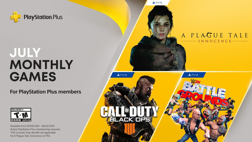 PlayStation Plus games for July 2021