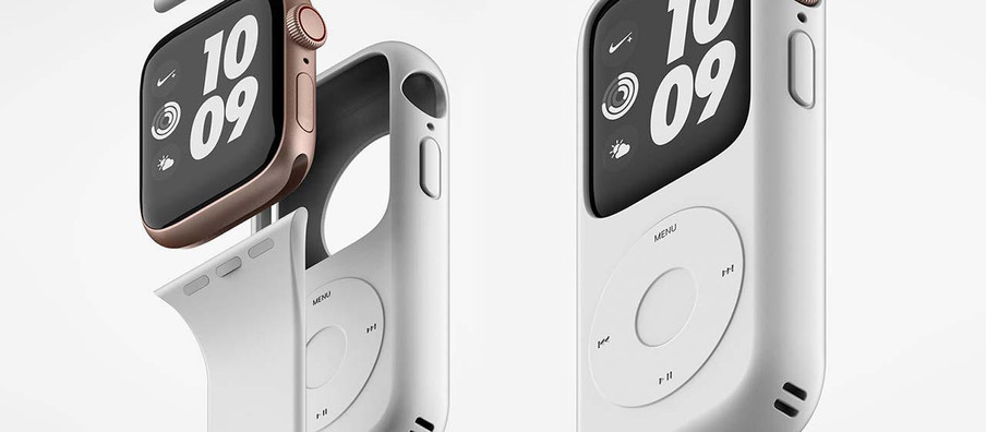 This Case turns your Apple Watch into a Ipod
